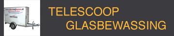 Telescoop glasbewassing